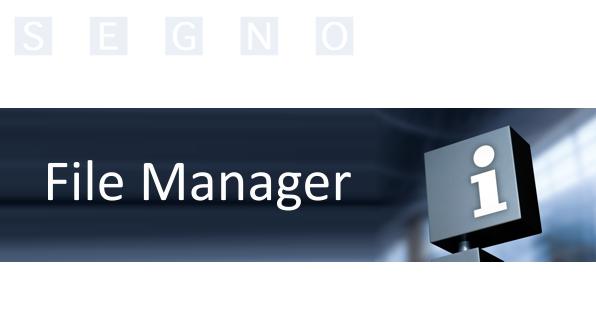 Bild File Manager 2 596x334px | SEGNO