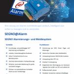 SEGNO@Alarm Flyer Thumbnail